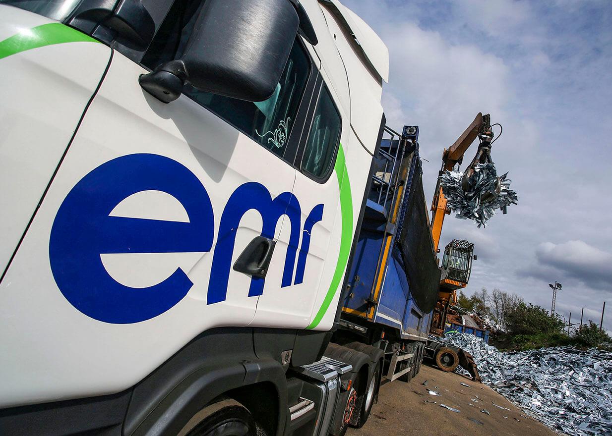 EMR lorry