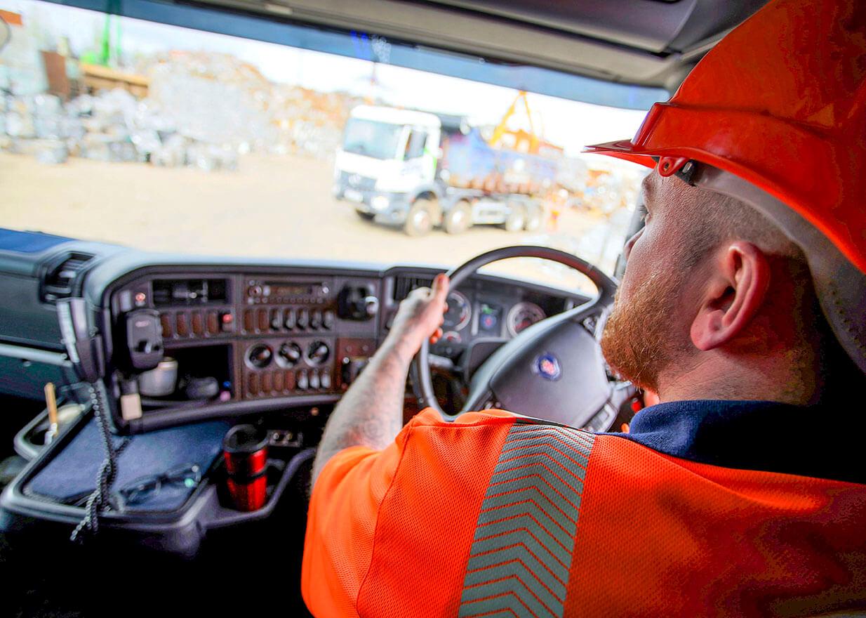 EMR truck driver