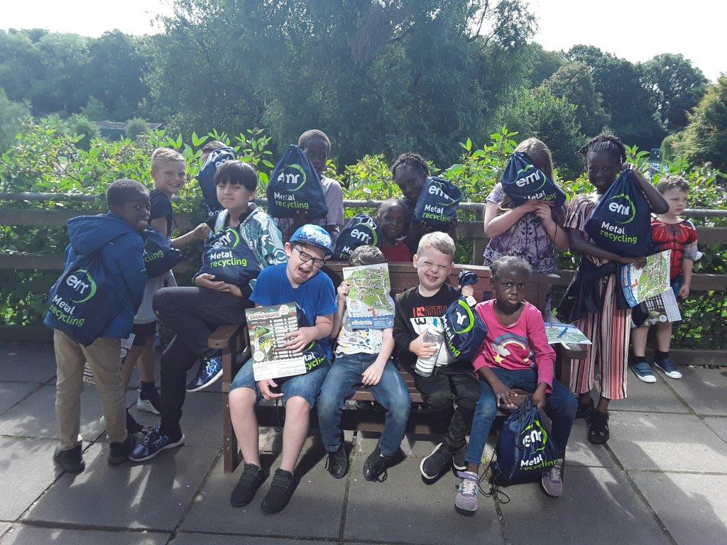 The Roberts Centre trip to Marwell Zoo