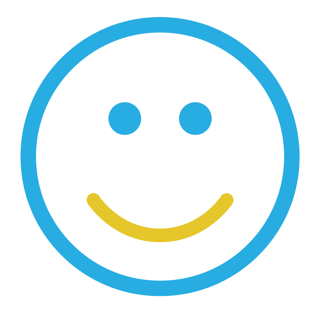 Smiley face icon