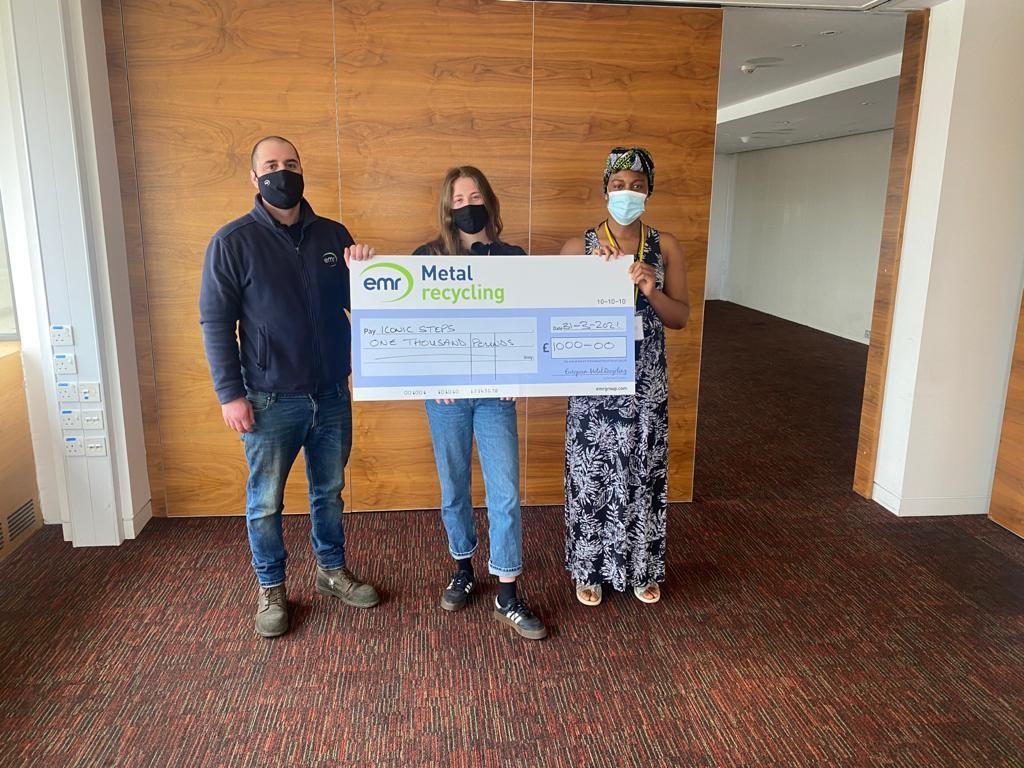EMR Wandsworth awards donation to Iconic Steps