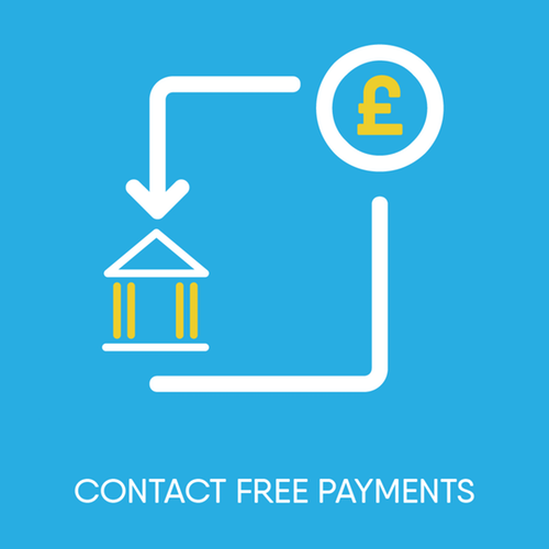 Contact free payments