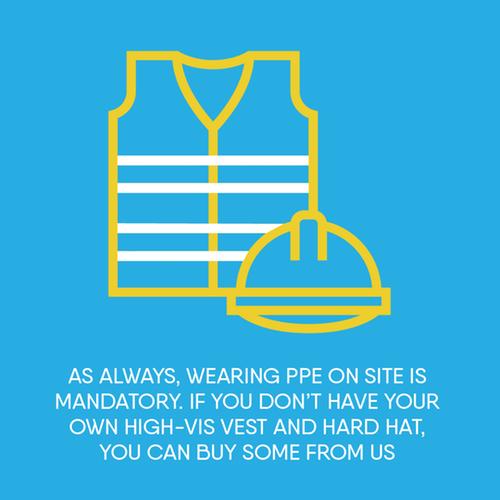 PPE mandatory