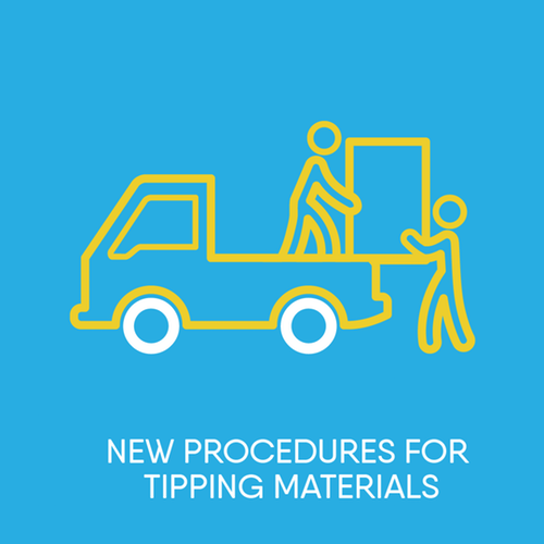 New procedures for tipping materials