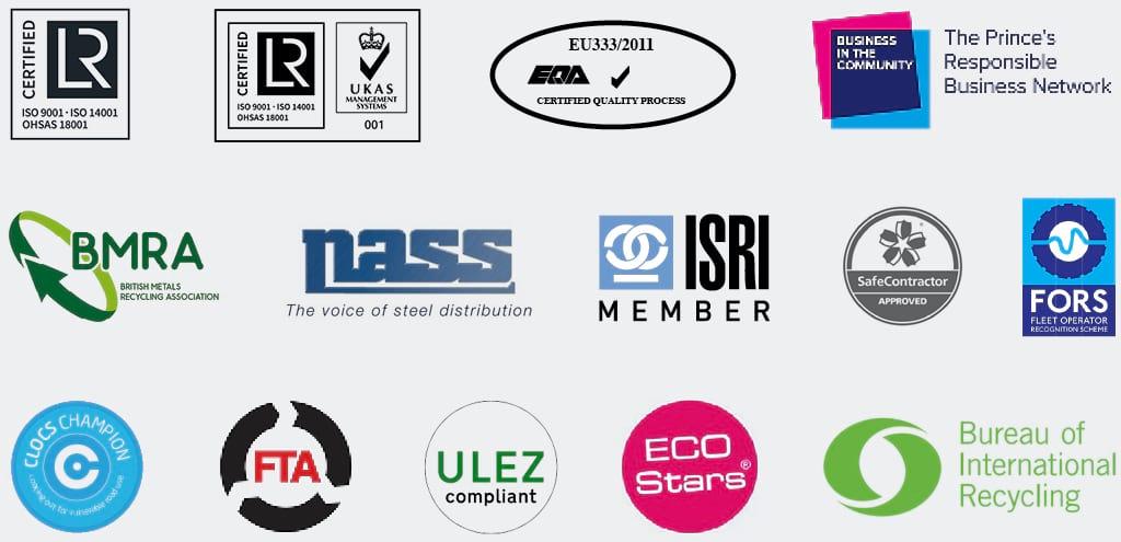 EMR Membership bodies and certifications