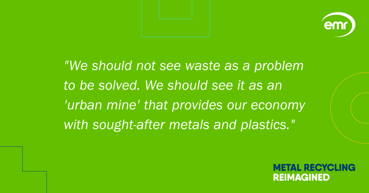 Anthony Marrett discusses the challenges of decarbonising our material processing