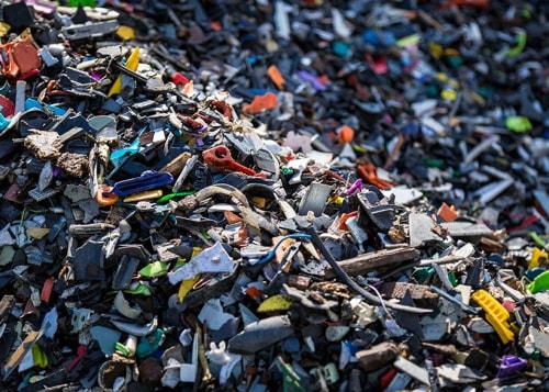 Processed plastics