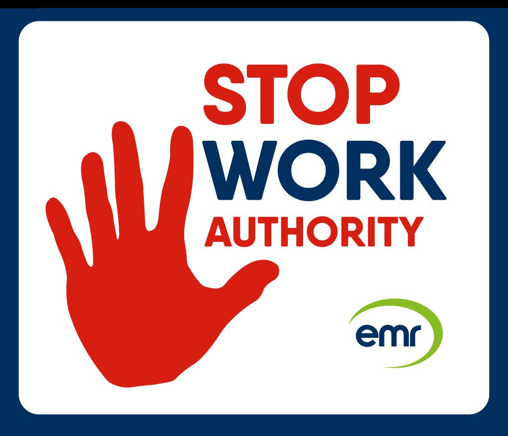 Stop Work logo