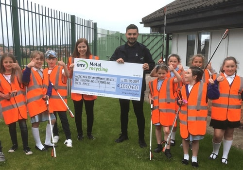 EMR delivers equipment to The Box Youth & Community Project in Sunderland